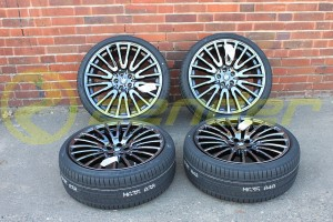 "BMW 7 G11 G12 KOŁA LETNIE 21"" Multi Spoke 629 liquid black z RDC"