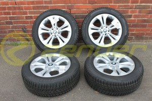 BMW X1 F48 F49 KOMPLETNE KOŁA ZIMOWE 17 Double Spoke 564 MICHELIN z RDCi