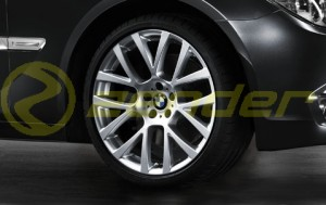 BMW 7 F01 F02 F04 KOMPLETNE KOŁA LETNIE 21 Double Spoke 238
